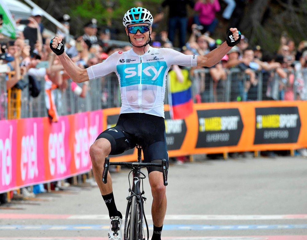 Chris Froome ovládl poslední etapu Giro d´Italia a zajistil si tak jako první Brit vůbec vítězství v závodě