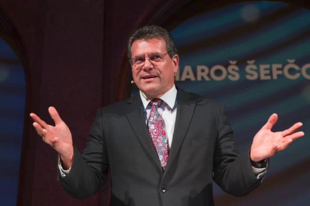Místopředseda Evropské komise Maroš Šefčovič
