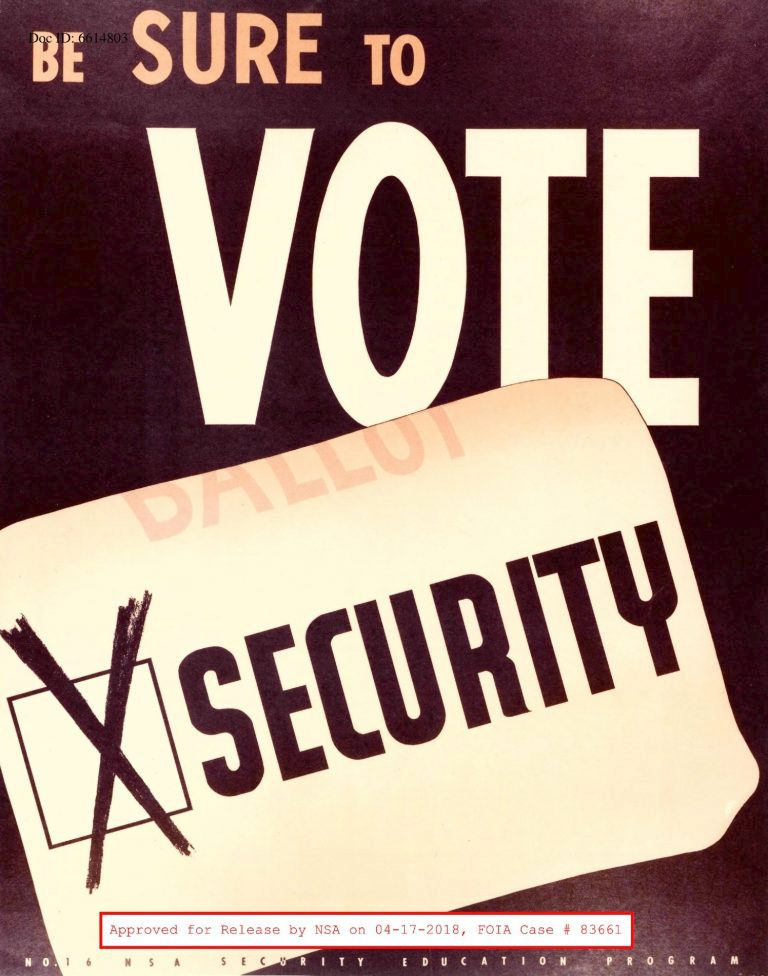 Plakáty, kterými vláda USA nabádala k obezřetnosti před sovětskými agenty.
