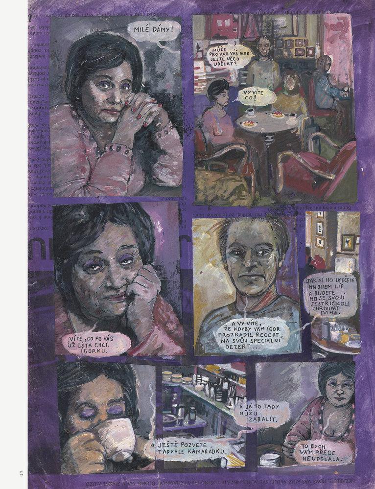 Svůj nový komiks, Sestry Dietlovy, vydal Vojtěch Mašek jako obyčejně u nakladatelství Lipnik