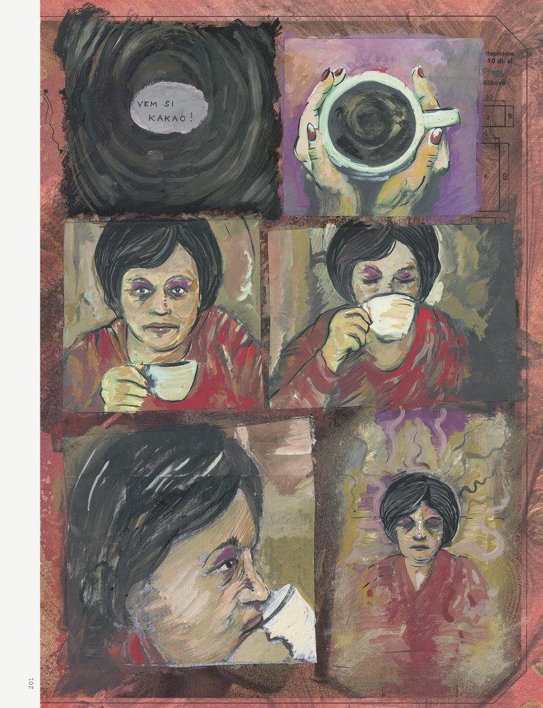 Sestry Dietlovy, ukázka z komiksu