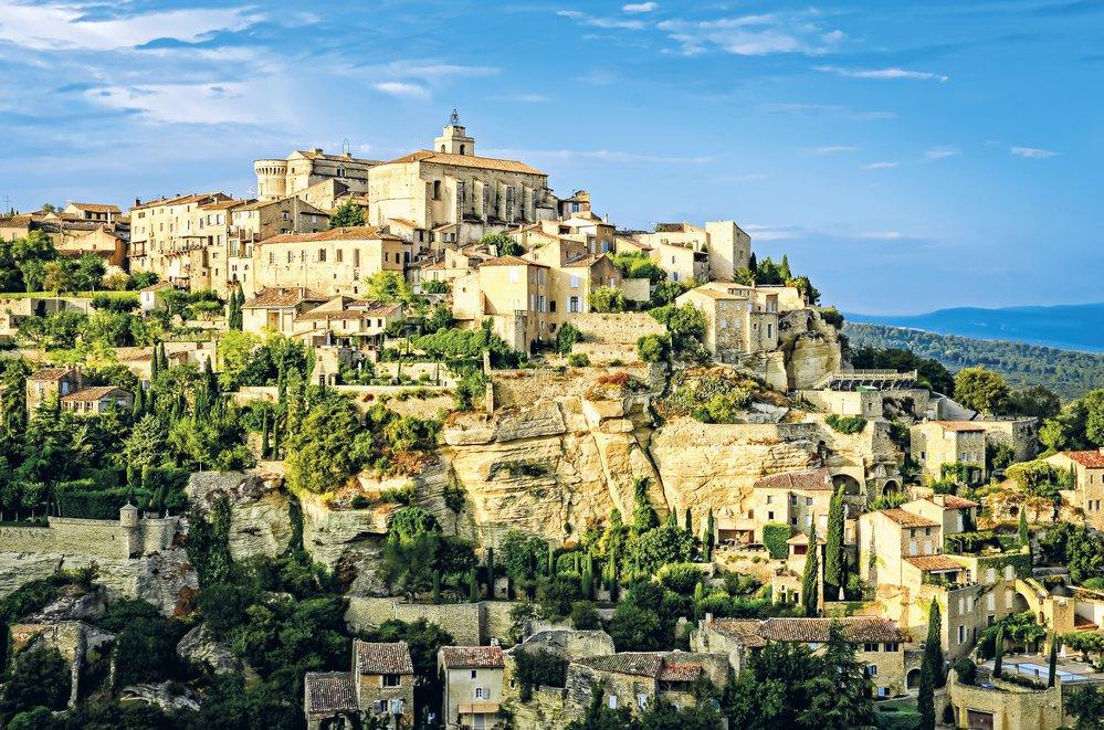 Středověké město Gordes