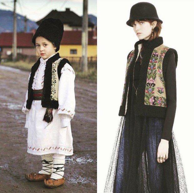 Módní značka Dior zkopírovala tradiční bihorské kroje.