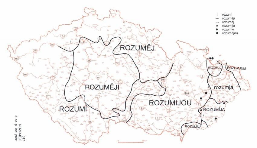 Chcou. Zajímavá shoda Moravy a jižních Čech
