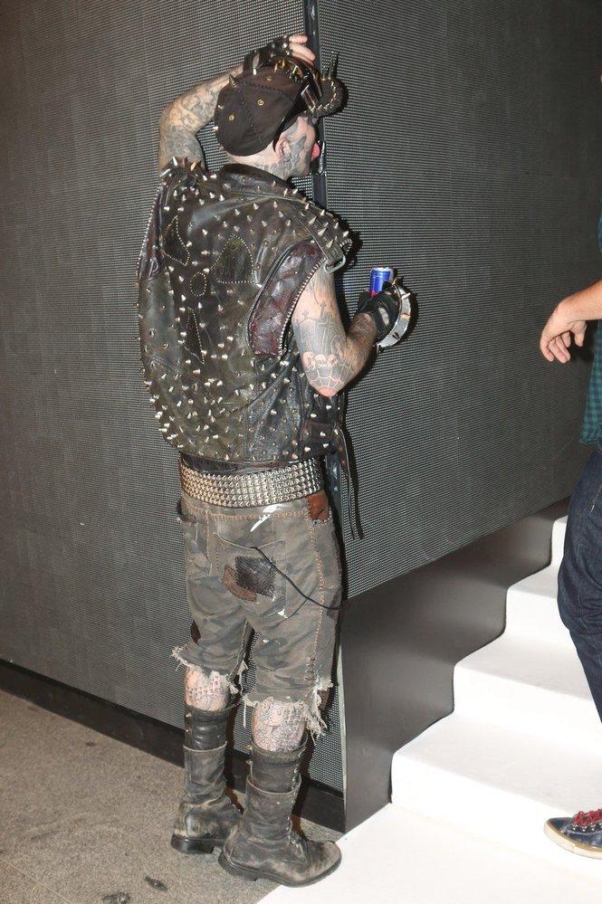 Zemřel Rick Genest alias Zombie Boy. V roce 2014 navštívil Prahu