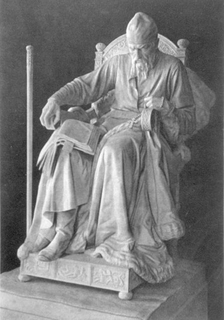 Socha Ivana Hrozného
