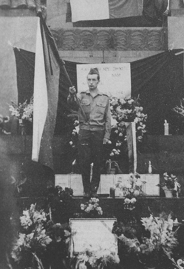 Pocta padlým na Václavském náměstí, 31. srpna 1968.