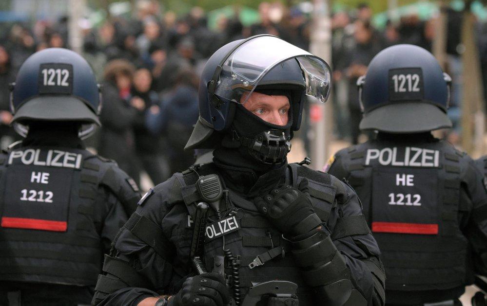 Velký protestní pochod v německém Chemnitzu (1. 9. 2018)