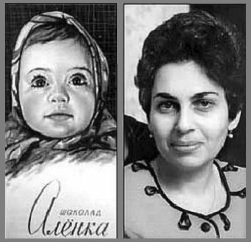 Příběh legendární sovětské čokolády Aljonka. Kdo je modrooká holčička na nesmrtelném obalu?