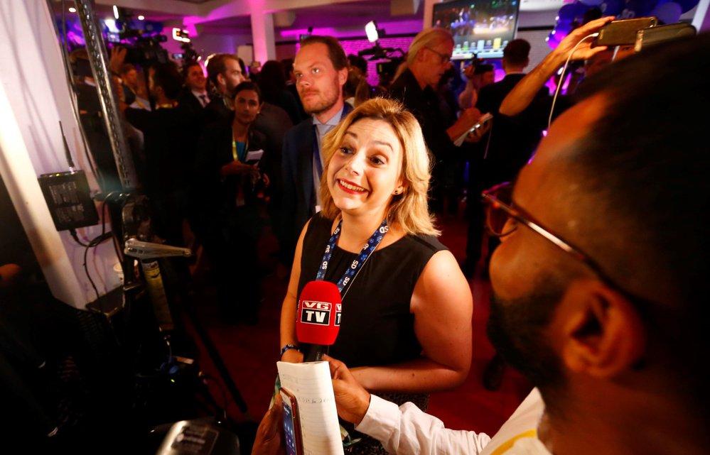 Paula Bieler ze Švédské demokratické strany, švédské volby 9.9.2018
