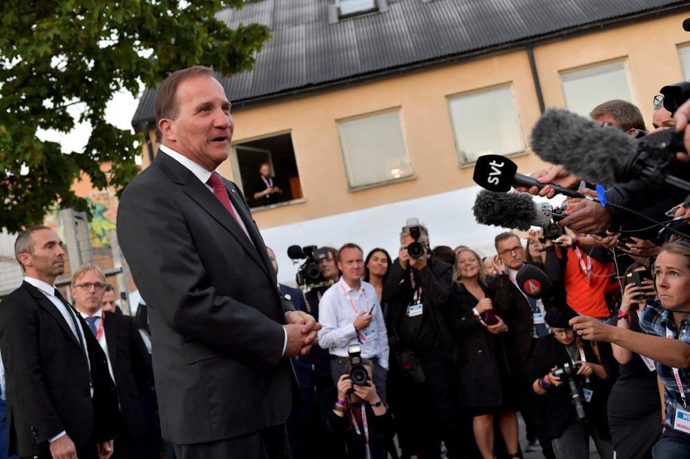 Švédský premiér Stefan Lofven