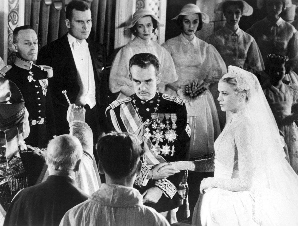Svatba s monackým knížetem Rainierem III. v roce 1956 byla obrovská.