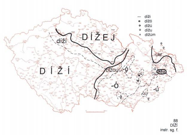 Nářečí severovýchodu Čech: Přijď s dížej