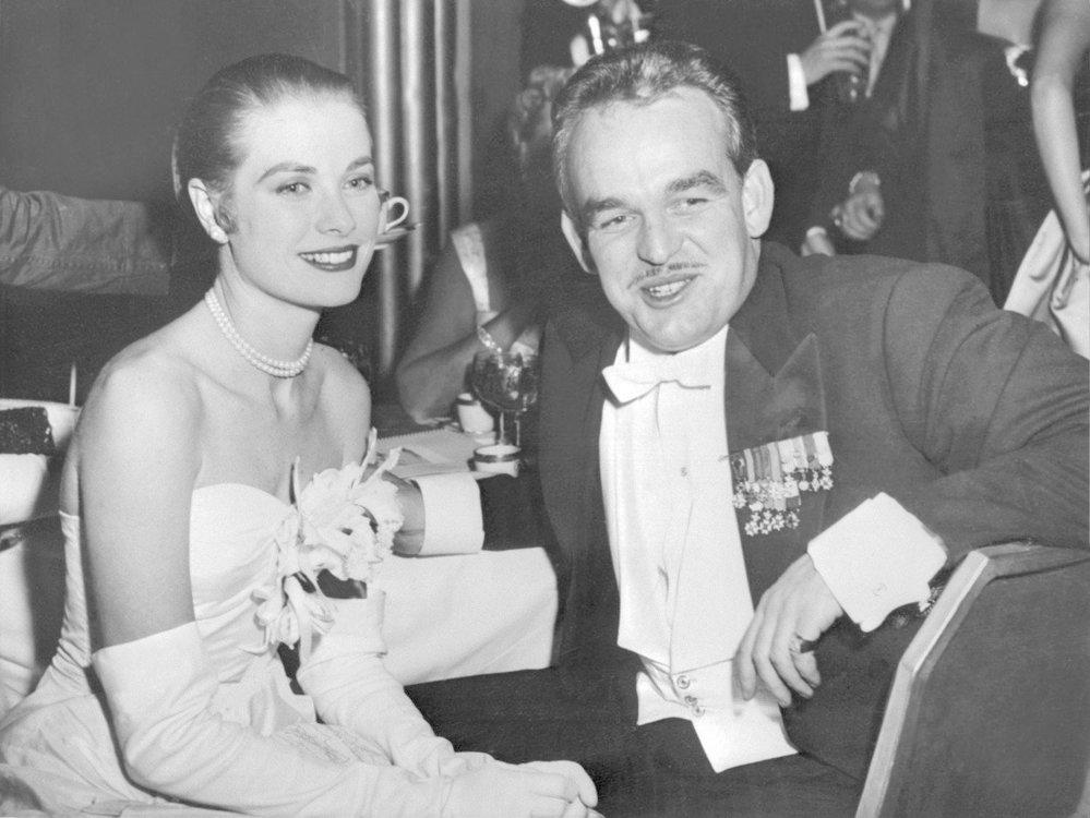 V červnu 1956, krátce po svatbě s knížetem Rainierem III.