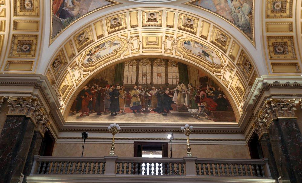 Národní muzeum po rekonstrukci slavnostně otevírá své brány. 26. 10. 2018