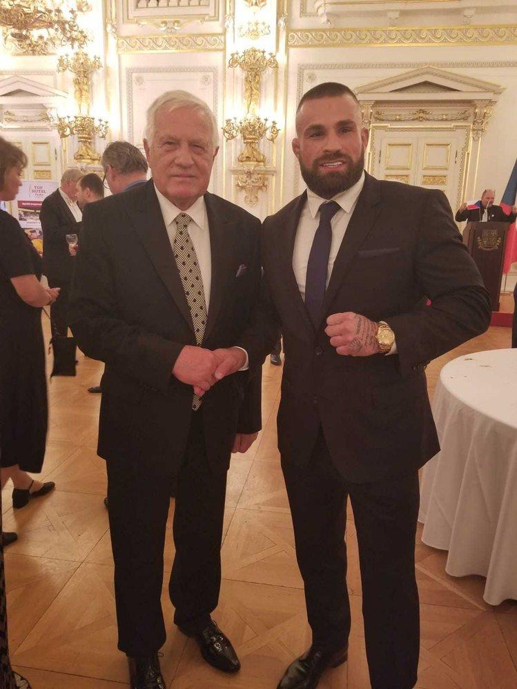 Bývalý prezident a český terminátor - Václav Klaus a Karlos Vémola