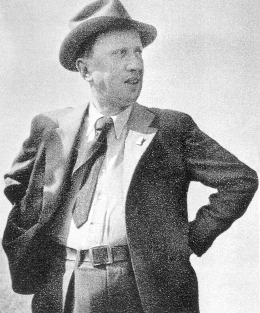 Karel Čapek v červnu roku 1938