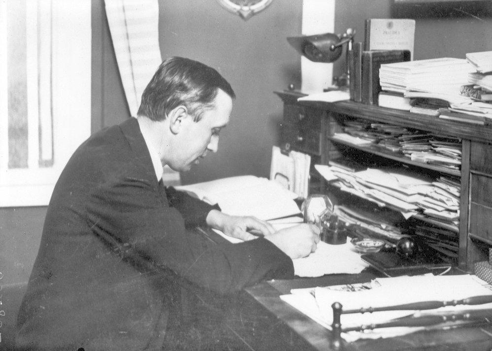 Spisovatel a novinář Karel Čapek