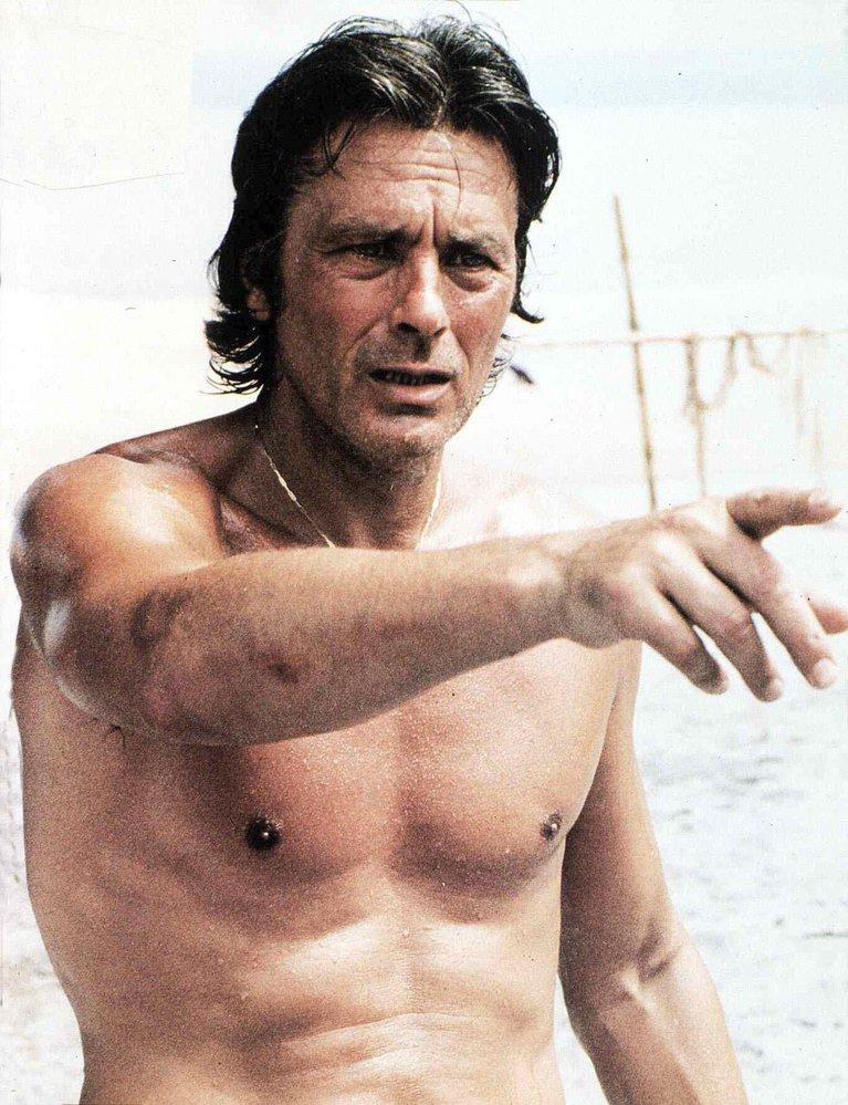 Alain Delon, bouřlivák, skandalista, sukničkář a skvělý herec.