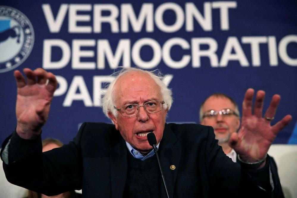 Bývalý prezidentský kandidát Bernie Sanders obhájil senátorské křeslo