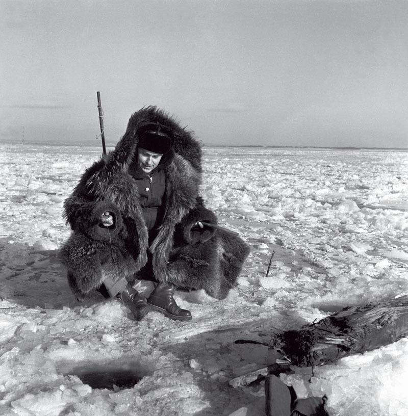 Rybolov na Amuru, SSSR 17. 11. 1963