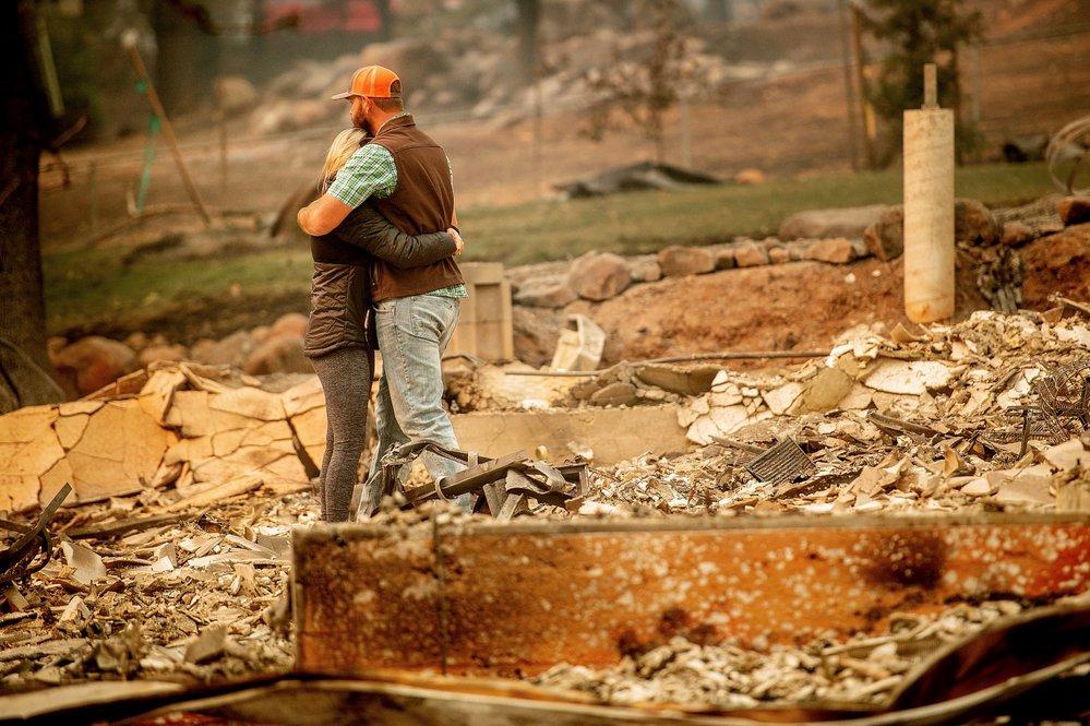 Ničivé požáry v Kalifonii