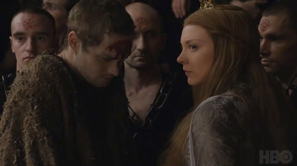 Záběry ze seriálu Game of Thrones.