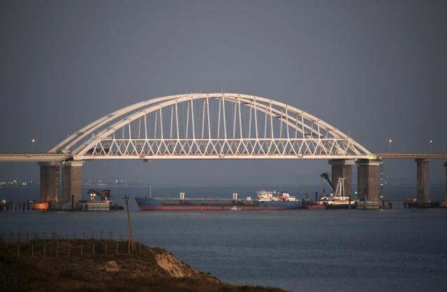 Ruská blokáda v Kerčském průlivu