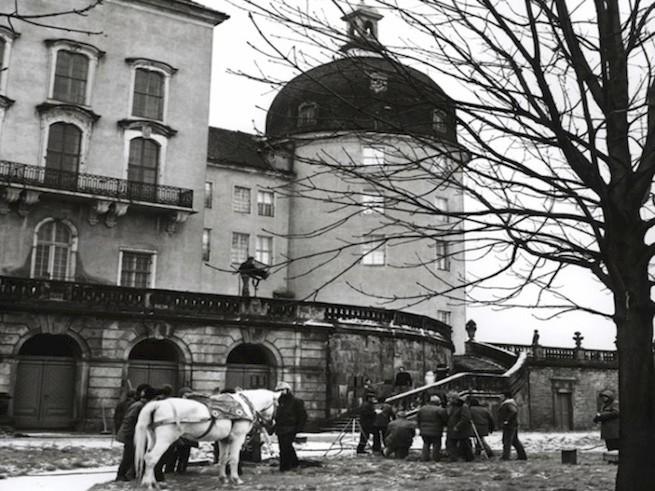 Na zámku Moritzburg bydlel princ.