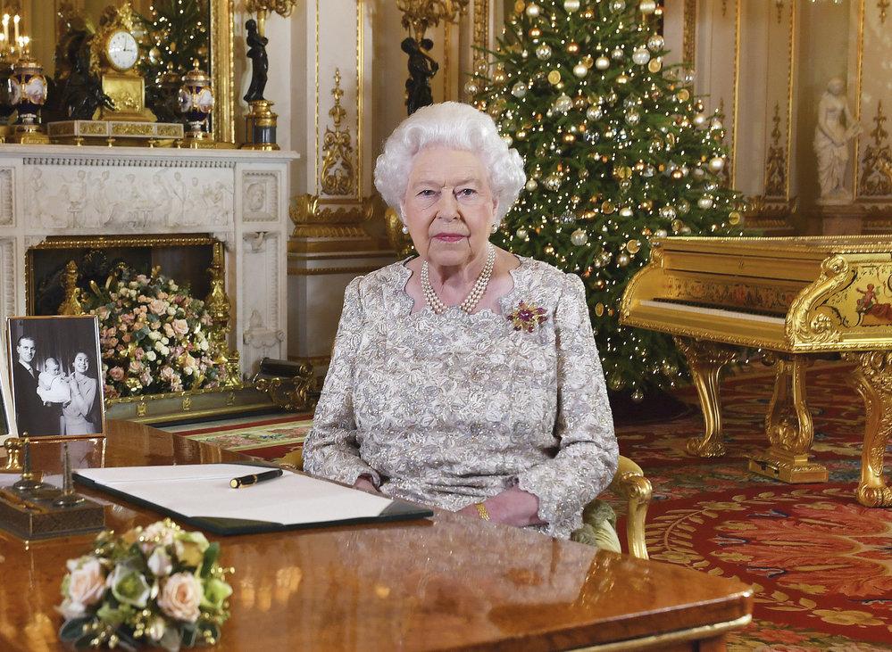 Královna Alžběta II. a její vánoční poselství 2018
