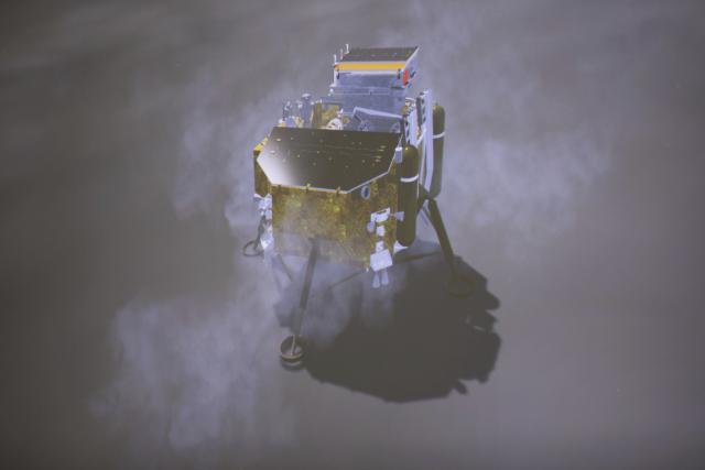 Čínská sonda Čchang-e 4 přistála jako první v historii na odvrácené straně Měsíce