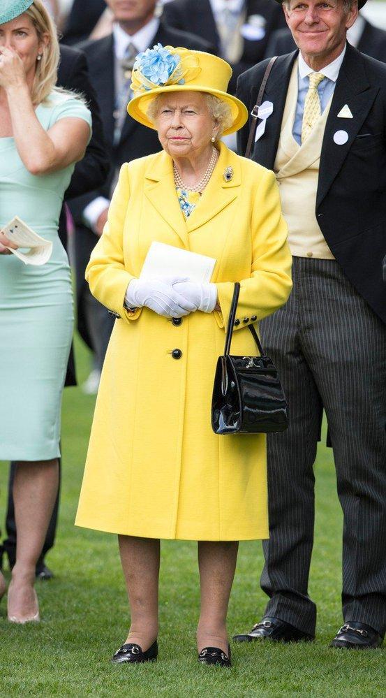 Královna Alžběta II. v roce 2018