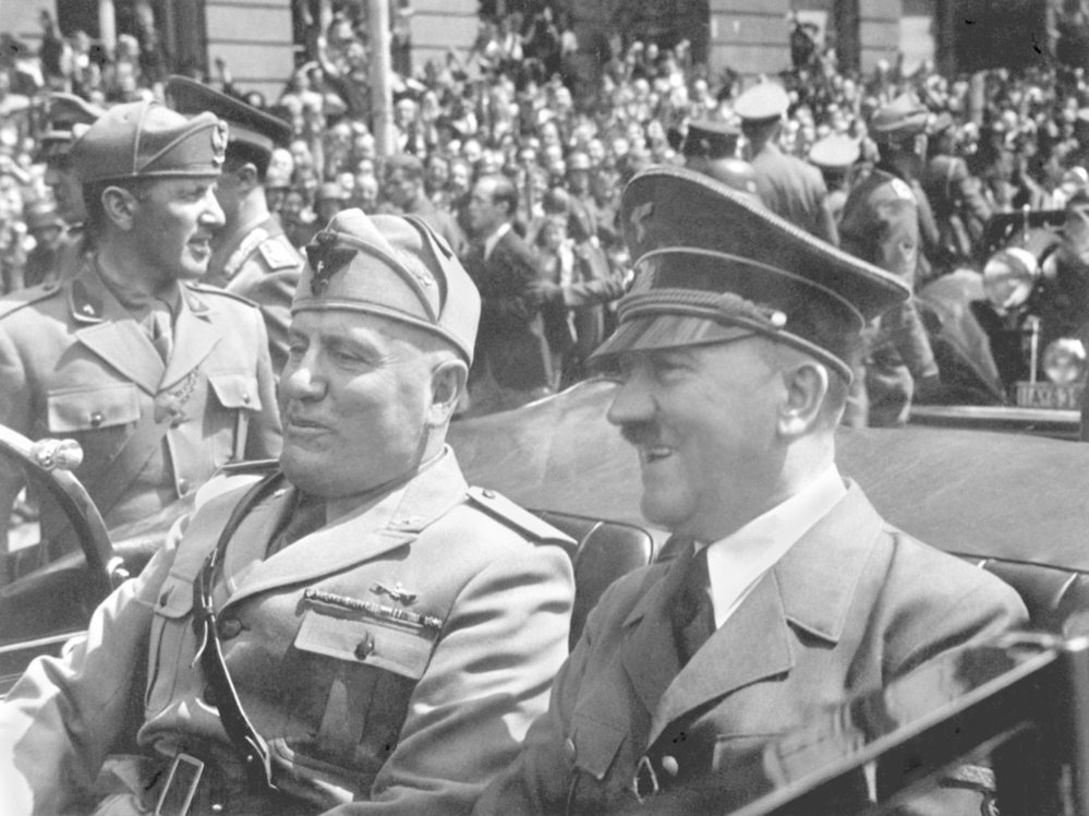Benito Mussolini a Adolf Hitler