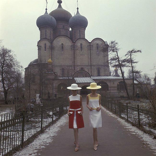 Nizozemec Paul Huf dostal jako první západní fotograf oficiální povolení nafotit módní snímky v SSSR.