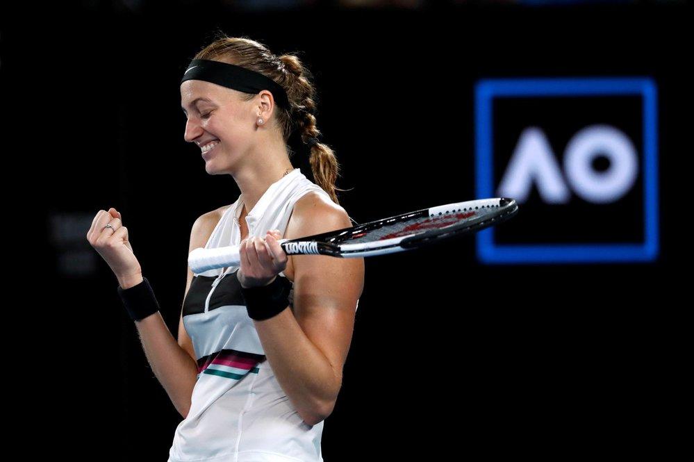 Petra Kvitová se na Australian Open 2019 dostala do finále