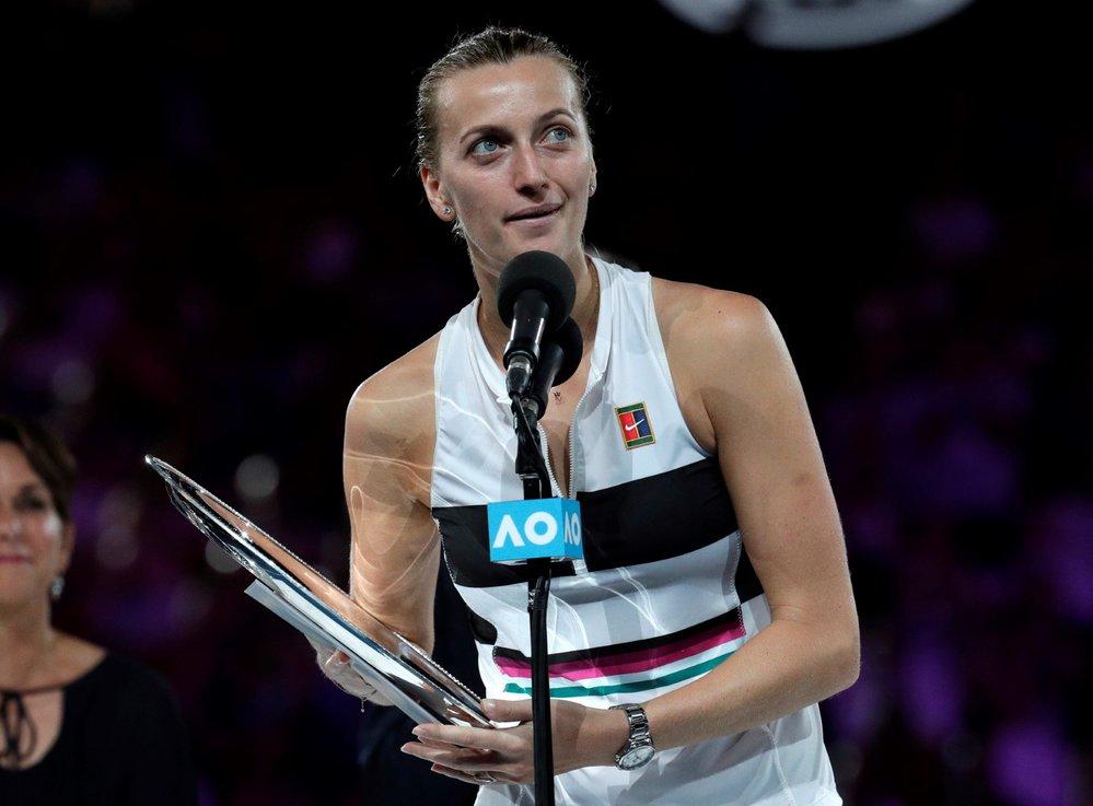Jen dva roky po přepadení se Petra Kvitová dokázala probojovat do finále Australian Open
