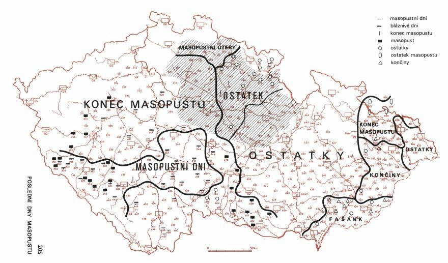 Masopust: Jak se v různých částech republiky označovaly poslední dny masopustu, po kterých následoval půst