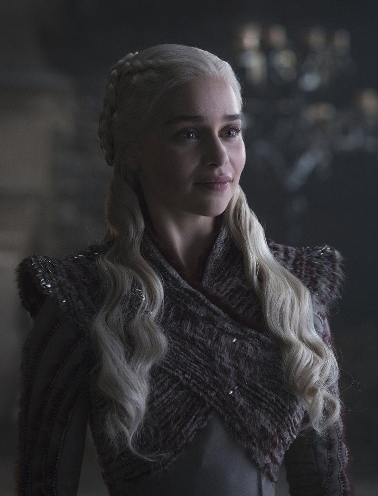 Emilia Clarke jako Matka draků Daenerys Targaryen