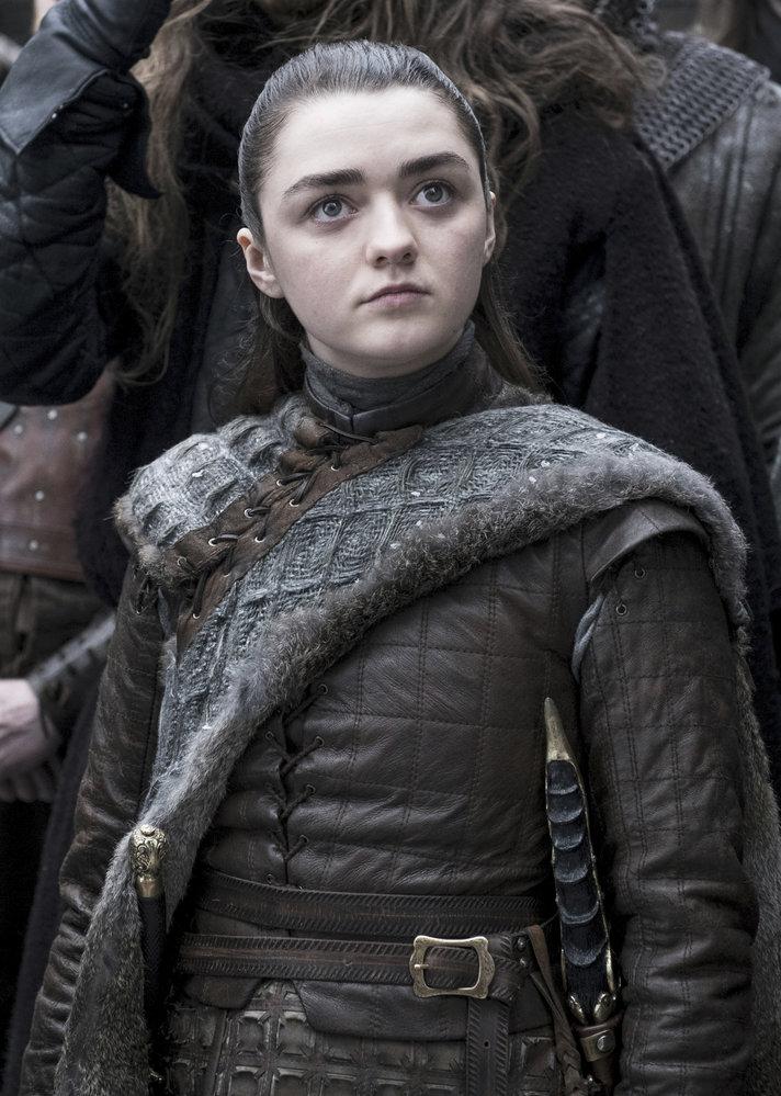 Maisie Williamsová jako Arya z rodu Starků