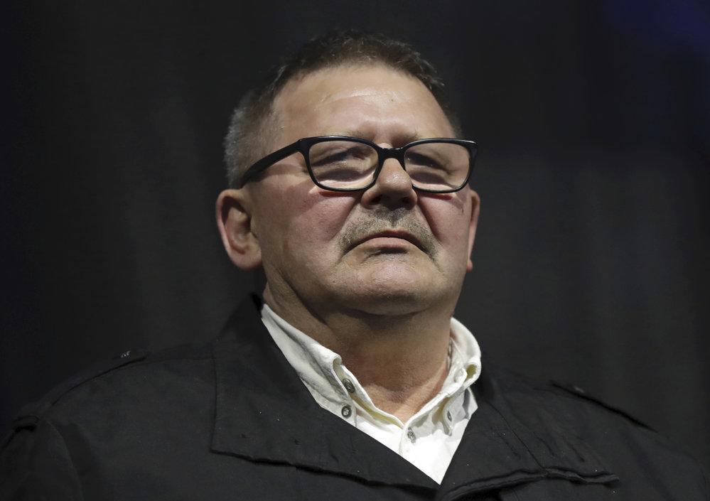 Kuciakův otec na pietě za svého syna v Bratislavě (21.2.2019)