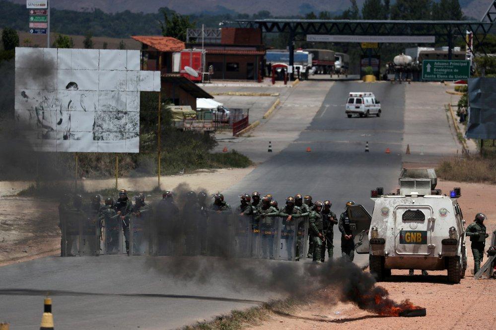 Nepokoje ve Venezuele.
