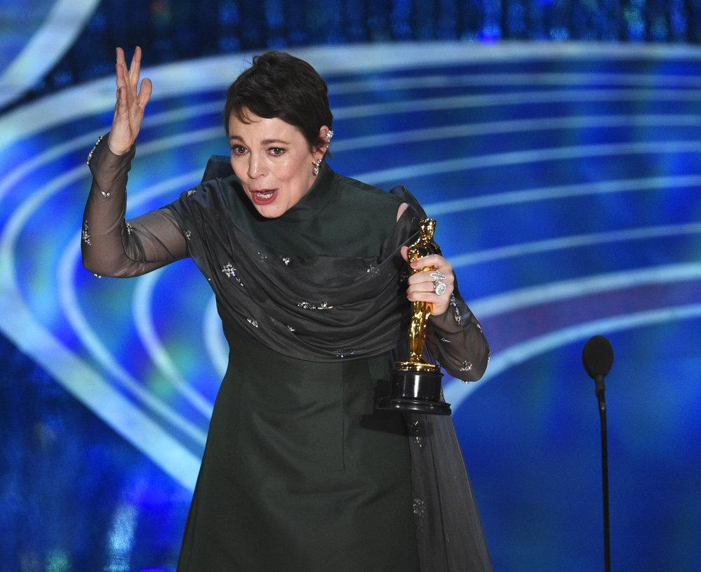 Olivia Colmanová získala Oscara za film Favoritka