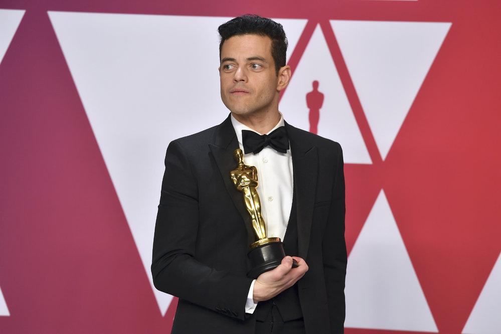 Rami Malek převzal Oscara