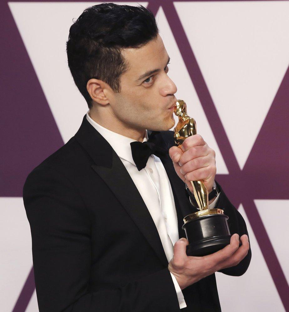 Rami Malek převzal Oscara.