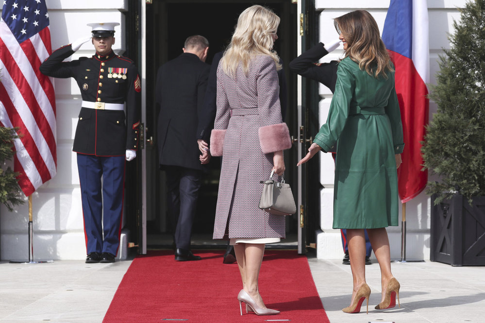 Melania Trumpová a Monika Babišová