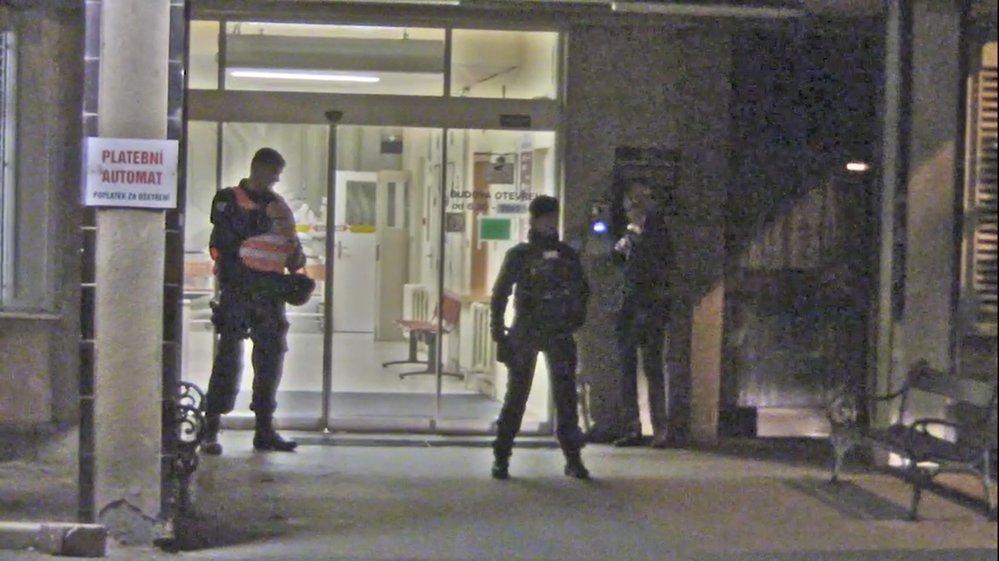 Policie obsadila hematologické oddělení