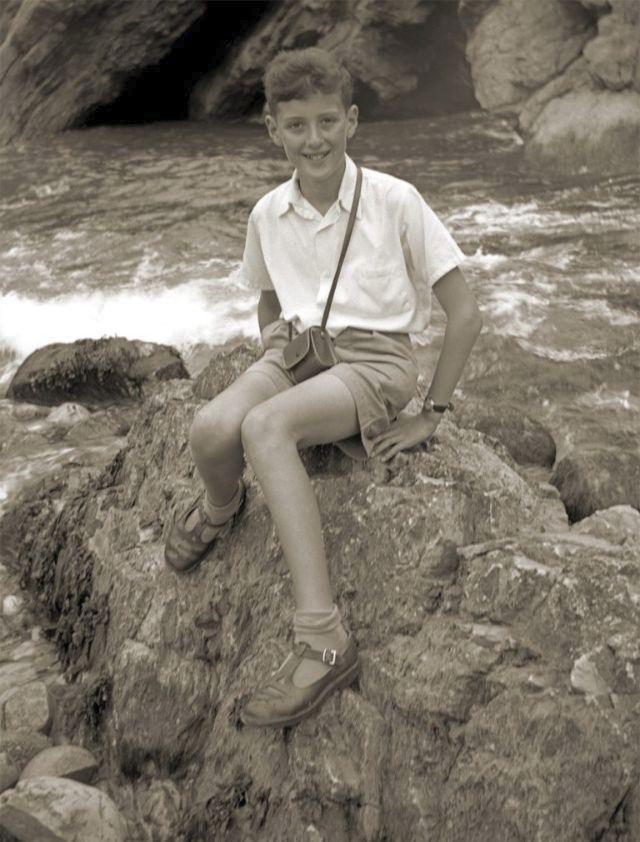 Brian May v roce 1958