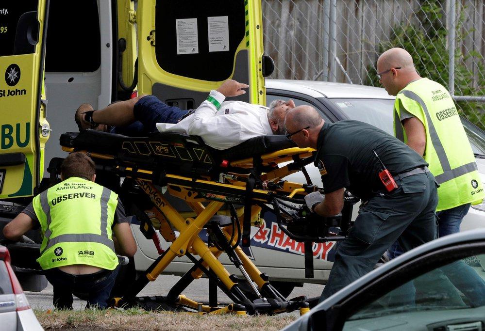 Střelba ve městě Christchurch