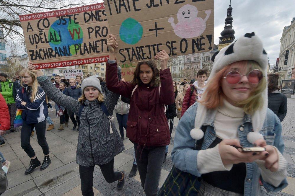 Protestní akce v Ostravě