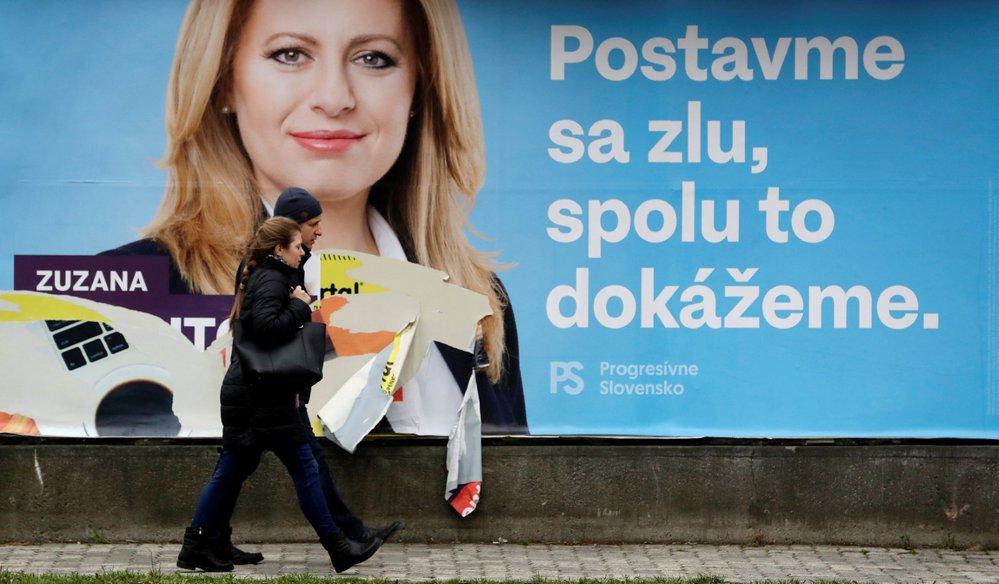 Prezidentské volby na Slovensku: Zuzana Čaputová